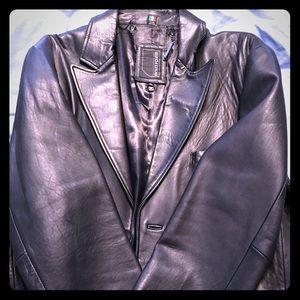 Jackets & Blazers - Men's Sport Coat style Leather Jacket